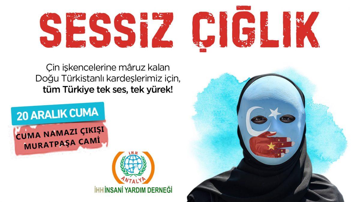 Doğu Türkistan Basın Açıklaması